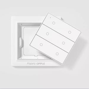 Image 4 - Originale Aqara OPPLE Smart Switch Wireless di Lavoro Con Apple HomeKit e Mihome App Due/Quattro/Sei Bottoni