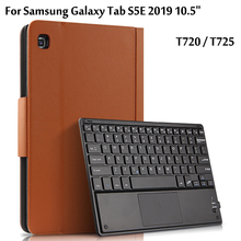 Smart Wireless Bluetooth Keyboard Case For Samsung Galaxy Tab S5E 10.5 T720 T725 Protective Cover For Tab S5E SM-T720 SM-T725 чехол fasion case для samsung galaxy tab s5e 10 5 t720 t725 purple 10345