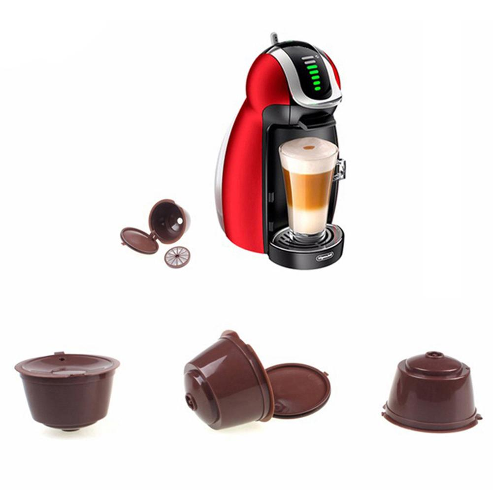 Cafeteira Dolce Gusto Refillable Coffee Capsule Nestle Reutilizavel Filter Reusable Kitchen Sweet Taste Accessories Capsules