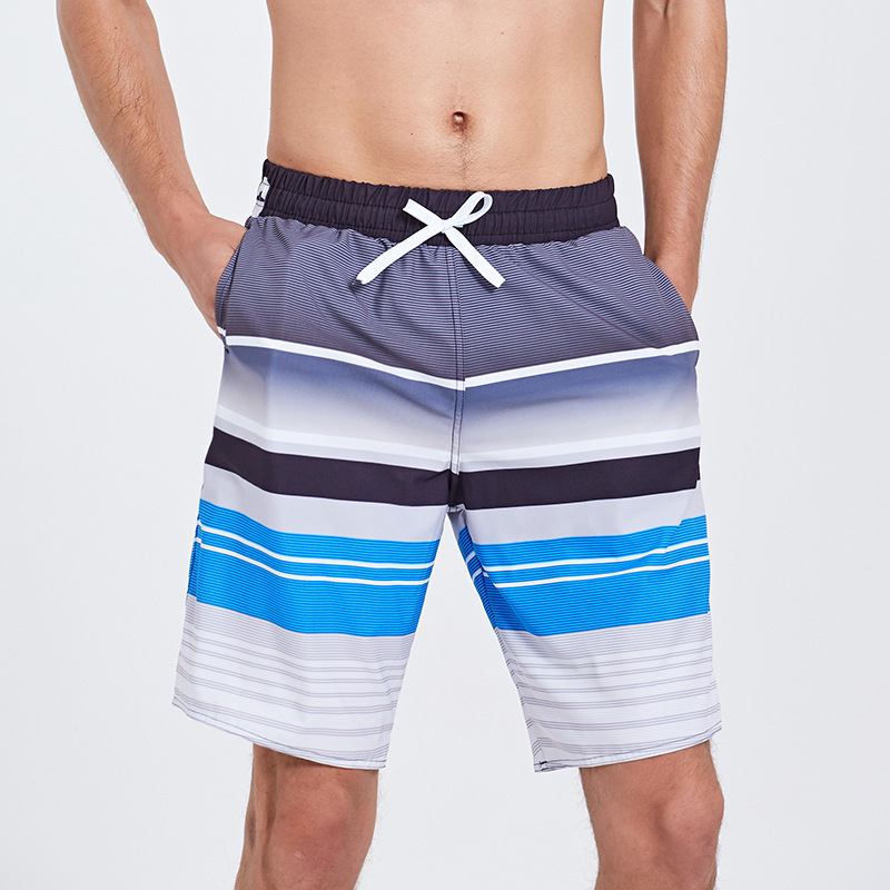 Sbart Beach Shorts Men's Quick-Dry Seaside Holiday Loose-Fit Flower Shorts Short Surfing Swimming Trunks Large Size Trunks Men's