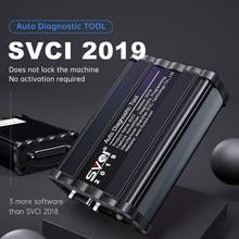 Svci 2019 capa v2018 adicionado 3 softwares svci abrites comandante automotivo svci 2019 obd2 scanner ferramenta de diagnóstico do carro não bloqueado