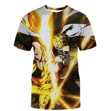3D Print One Punch Man Season 2 Tshirt Fashion Men/Women Short sleeve t shirt Harajuku Hot One Punch Man Season Men clothing Top