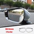 ABS хром для Mazda CX-30 2020 2021 аксессуары для автомобиля Боковая дверь зеркало заднего вида дождевик Крышка для бровей отделка стикер Стайлинг авт...