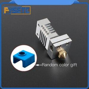 Image 3 - Cr10 dissipador de calor todo o metal hotend kit atualização para CR 10 Ender 3 impressoras micro suíço cr10 hotend titânio disjuntor garganta