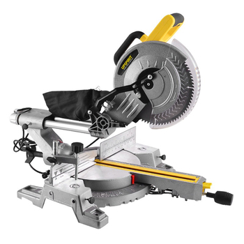 1800W Sliding Miter Saws Power Tool 10-inch Push-pull Double Slide 45-135° Cutting Wood Cutter 255 Aluminum Sawing Machine