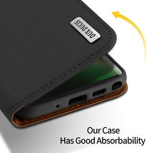 Image 3 - Do Samsung Galaxy Note 10 Plus Case luksusowe oryginalne SKÓRZANY PORTFEL etui do Samsung Note 10 Plus 5G biznes magnetyczny etui z klapką