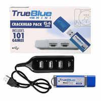64 GB/32 GB True Blue Mini Crackhead Pack 101 Spiele für PlayStation Klassische Spiele Zubehör Für PS1 Spiel konsole meth pack