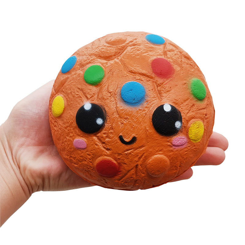 Kawaii Jumbo Squishy Food Chocolate Cookie Squishies Cream Scented Slow Rising Stress Relief Toy Kids Birthday Party Xmas Gift