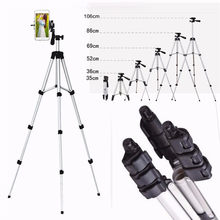 35-106cm Smart Phone Camera Tripod Stand Holder Aluminum Alloy Extendable Mount Holder Clip Set(China)