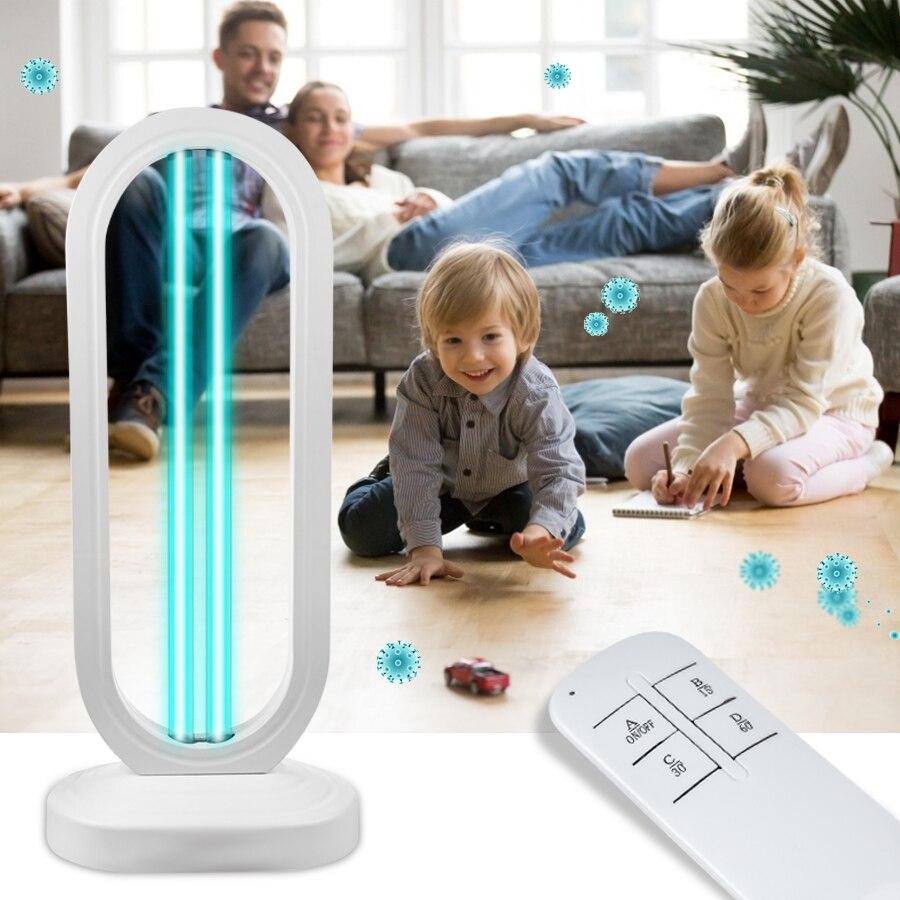 Lámpara de esterilización de 50W bombilla de luz blanca UV, bactericida, germicida, desinfección, UV, esterilizador, elimina el olor