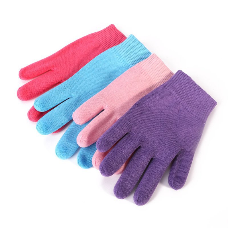 New NEW Silicone Gloves Spa Treatment Whiten Exfoliating Moisturizing Hand Care Repairing Soften Hand Skin Beauty Tools 4 Color