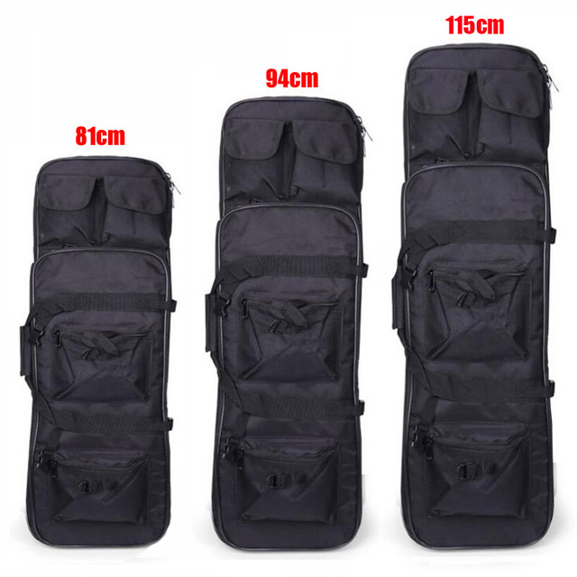 81 94 115cm Tactical Molle Bag Nylon Gun Bag Rifle Case Military Backpack For Sniper Airsoft Holster Shooting Hunting Accessorie 2