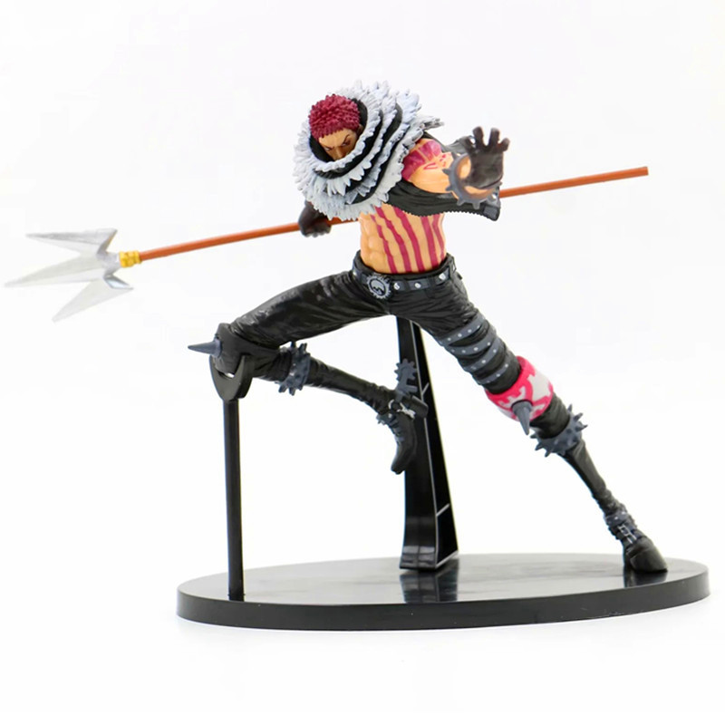 Anime <font><b>ONE</b></font> <font><b>PIECE</b></font> <font><b>Katakuri</b></font> PVC Charlotte Family Luffy's Opponent Action <font><b>Figure</b></font> Collectible Model Toy L52 image