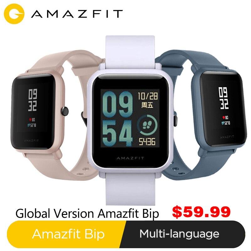 Xiaomi Huami Amazfit Bip lite Smart Watch Bluetooth Smartwatch huami amazfit BipLite Heart Rate Monitor 45 Days