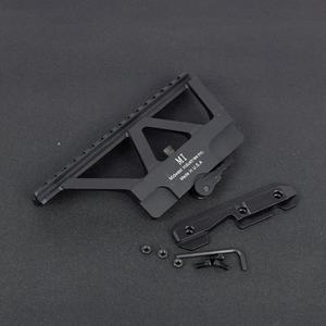 Image 4 - Soporte táctico CNC de liberación rápida AK para pistola de Rifle, accesorio para caza, puntero rojo, AK 47 AK 74, Picatinny