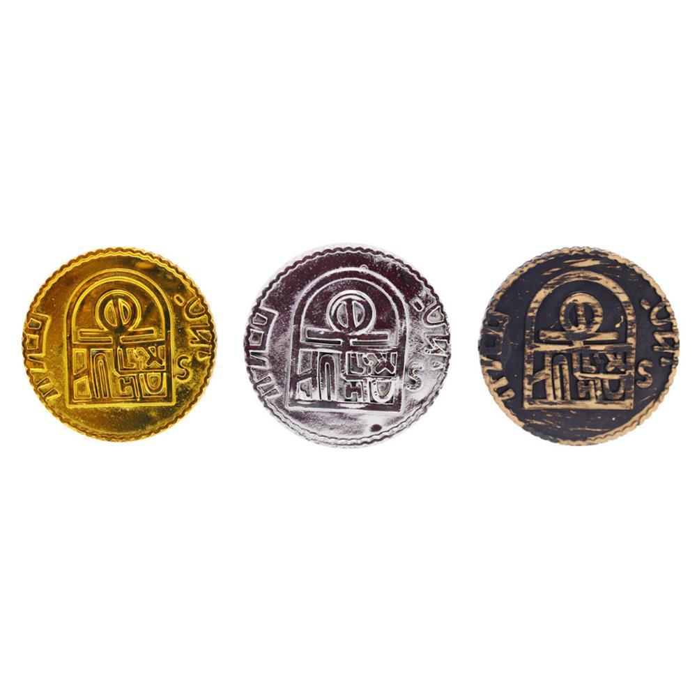 100 шт. фишки для покера, монета с золотым покрытием, пластиковая испанская игра с сокровищами, фишки для покера, игрушка