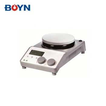 Agitador magnético de placa caliente Digital LCD ms-h-prot con función de temporizador
