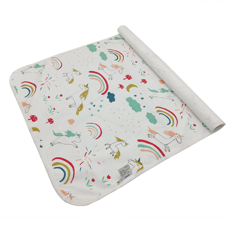 [Mumsbest] Baby Diaper Washable Waterproof Cover Changing Pads Newborn Travel Portable Baby Changing Mat Cover Size: 70cmx50cm