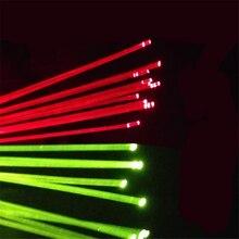 Pinos de substituição arco composto acessórios de tiro com arco vermelho amarelo verde estilingue caça fibra 50cm 0.5-1.5mm fibra óptica arco vista