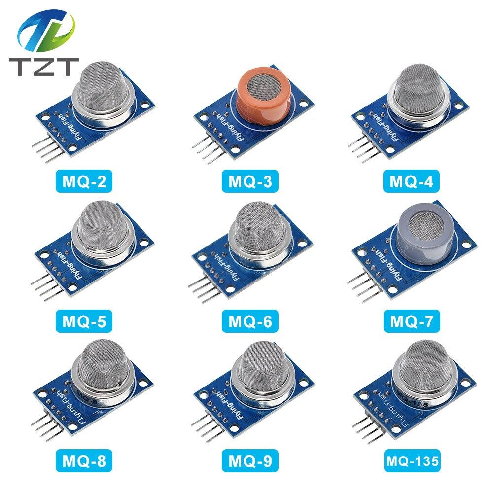 Gas Detection Sensor Modul MQ-2 MQ3 MQ-4 MQ-5 MQ-7 MQ-8 MQ-9 MQ-135 Für Arduino