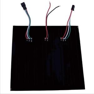 Image 2 - 1 pcsDC5V 16x16 12 dot matrix RGB soft screen Pixel WS2812B LED Digital Flexible Individually addressable Panel light H3 007