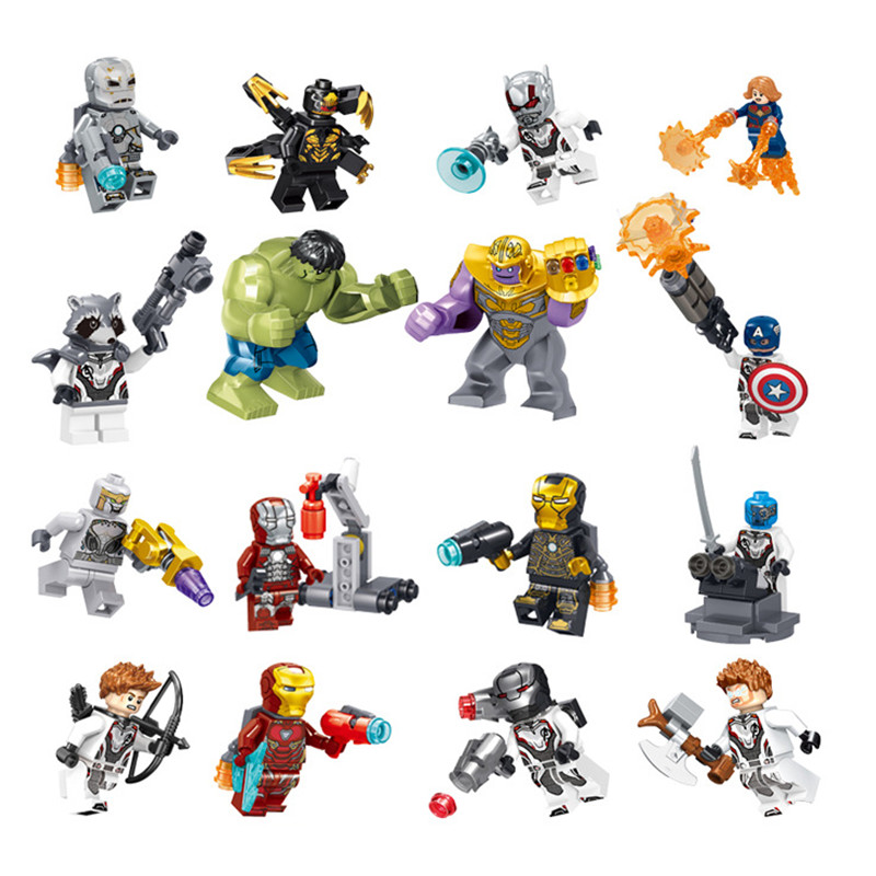 New Arrival The Avengers Heroes Action Figure Toys Hulk Batman Thanos Legoed Model Toys Children Birthday Christmas Gifts