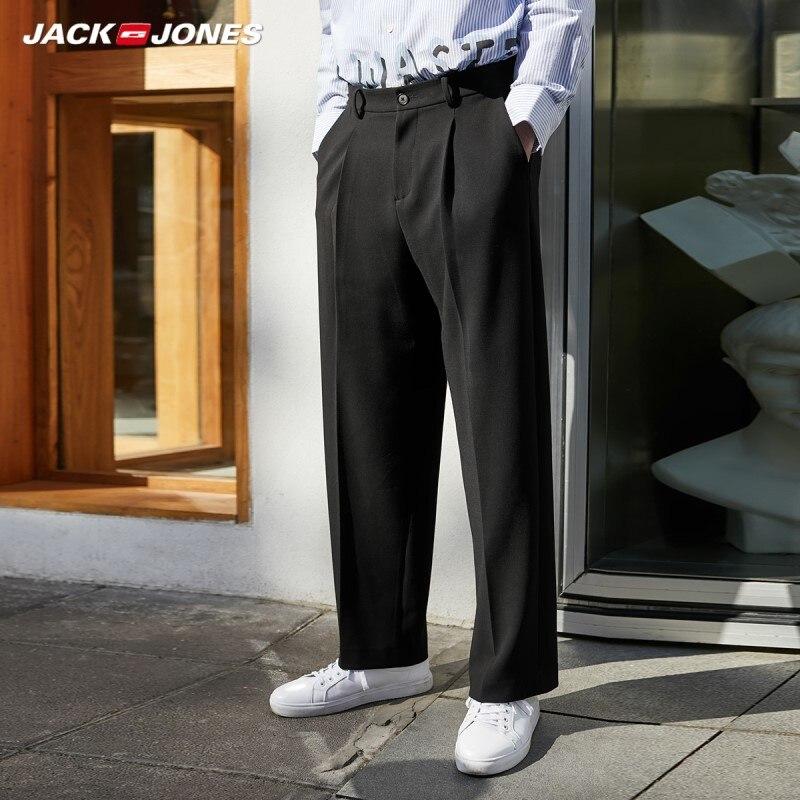JackJones Men's New Arrival Fashion Loose Fit Comfortable Casual Pants Menswear Streetwear| 220114536