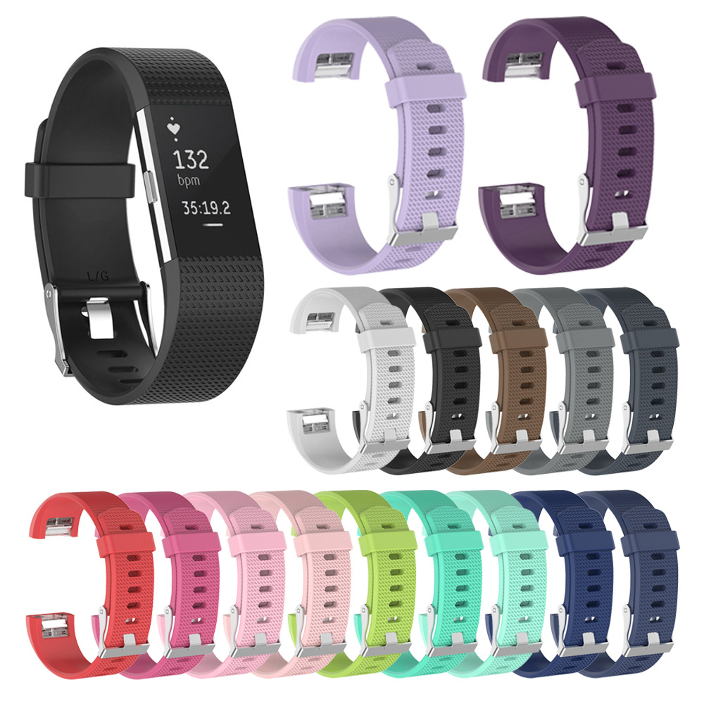 Best Price Wristband Wrist Strap Smart Watch Band Strap Soft Watchband Replacement Smartwatch Band For Fitbit Charge 2