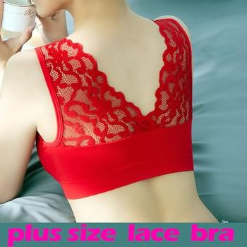 Bras For Women Plus Size Seamless Bra Breathable Underwear Wireless Beauty Back Pad Push Up Lingerie Push Up bh Bra Plus Size 1
