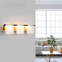 Nordic Modern Bedroom LED Wood Wall Lamp Bedside lamp Mirror Front Light Corridor Vanity Lighting stairs aisle balcony Lighting