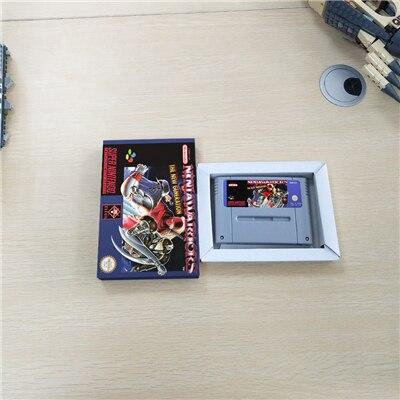 النينجا ووريورز EUR نسخة عمل بطاقة الألعاب مع صندوق البيع بالتجزئة