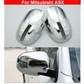 1 пара ABS хромированное зеркало заднего вида декоративная накладка для Mitsubishi ASX 2016-2019 прочный новейший