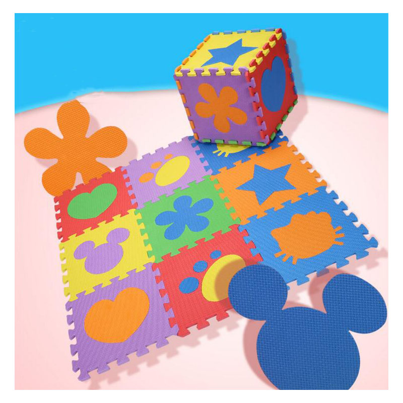 Baby Cartoon Jigsaw Puzzle Pad Detachable Foam Baby Toy Mat Baby Early Education Puzzle Development Mosaic Pad Climbing Mat