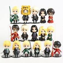 Figurines Hermione Granger Ron Weasley Draco Malfoy Severus Snape en PVC, 10cm, jouets poupées Version Q 5 pièces/et