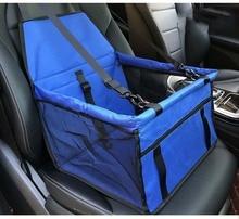 Pet Car Mat Mesh Bag Safe Carrying Household Folding Cat Puppy Dog Seat Supplies Basket
