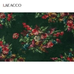 Image 5 - خلفيات استحمام للرضع من Laeacco زهور تتفتح الأشجار للأطفال حديثي الولادة خلفيات تصوير للأطفال الحوامل صورة Photophone