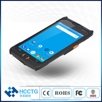 Industrial IP67 MTK CPU 5Inch touch screen pda 2GB+16GB mobile handheld pos terminal with RFID card reader C50