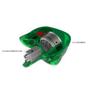 Image 3 - KZ ZSR 6 Drivers Armature+Dynamic Hybrid Headset HIFI Bass Noise Cancelling Earbuds In Ear ZSNPRO ZS10PRO ZSX C12 AS10 ZST