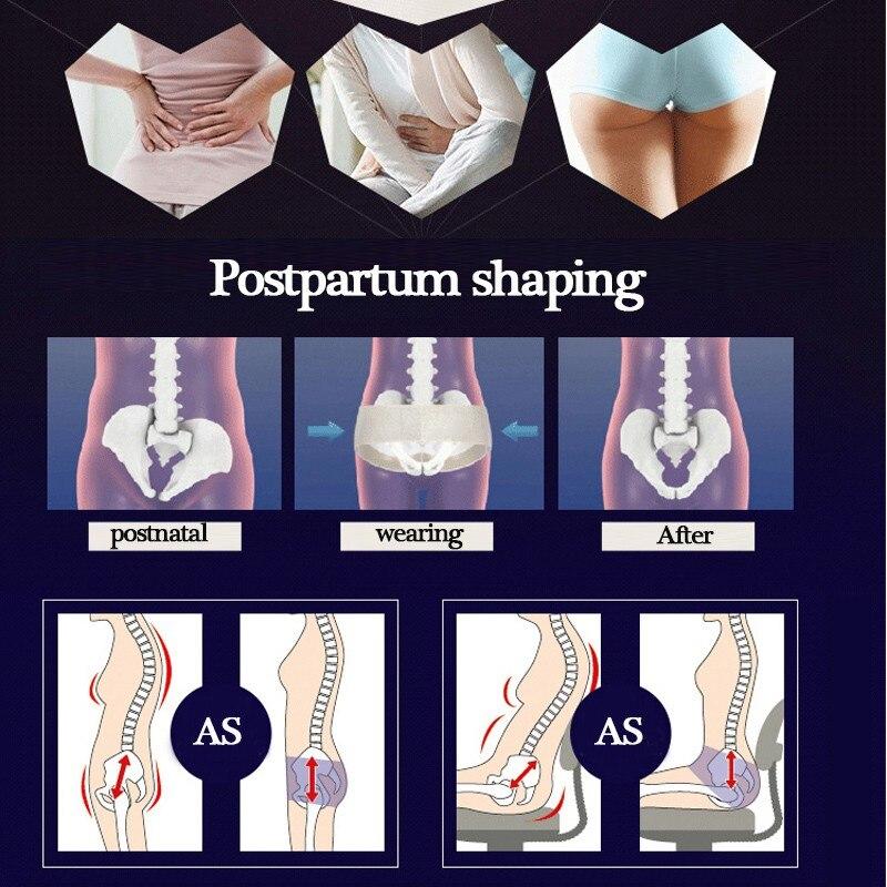 Women Correction Belt Body Shaping Slimming Recovery Belt Lift Hip Belt Butt Lifter Abdomen Body Shaper Femal Femal