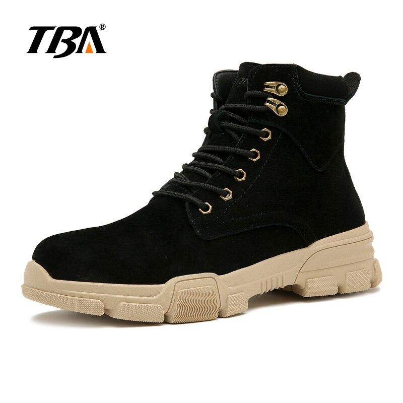 Haute qualité TBA3818 hommes chaussures Causual noir sable chaussures de travail taille 39-44