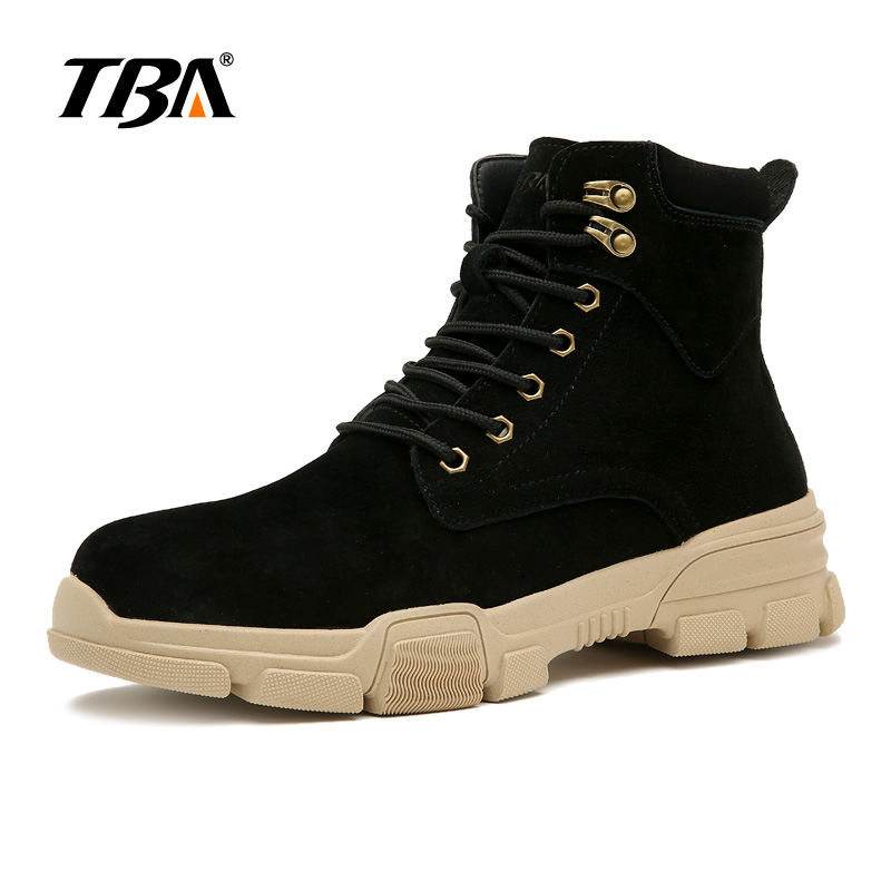 High Quality TBA3818 Mens Causual Shoes Black Sand Work Shoes Size 39-44