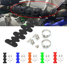 Universal Exhaust Muffler Pipe Heat Shield Guard Protector For SXF EXCF SMR 250 350 450 500 FC FE 250 350 450 501