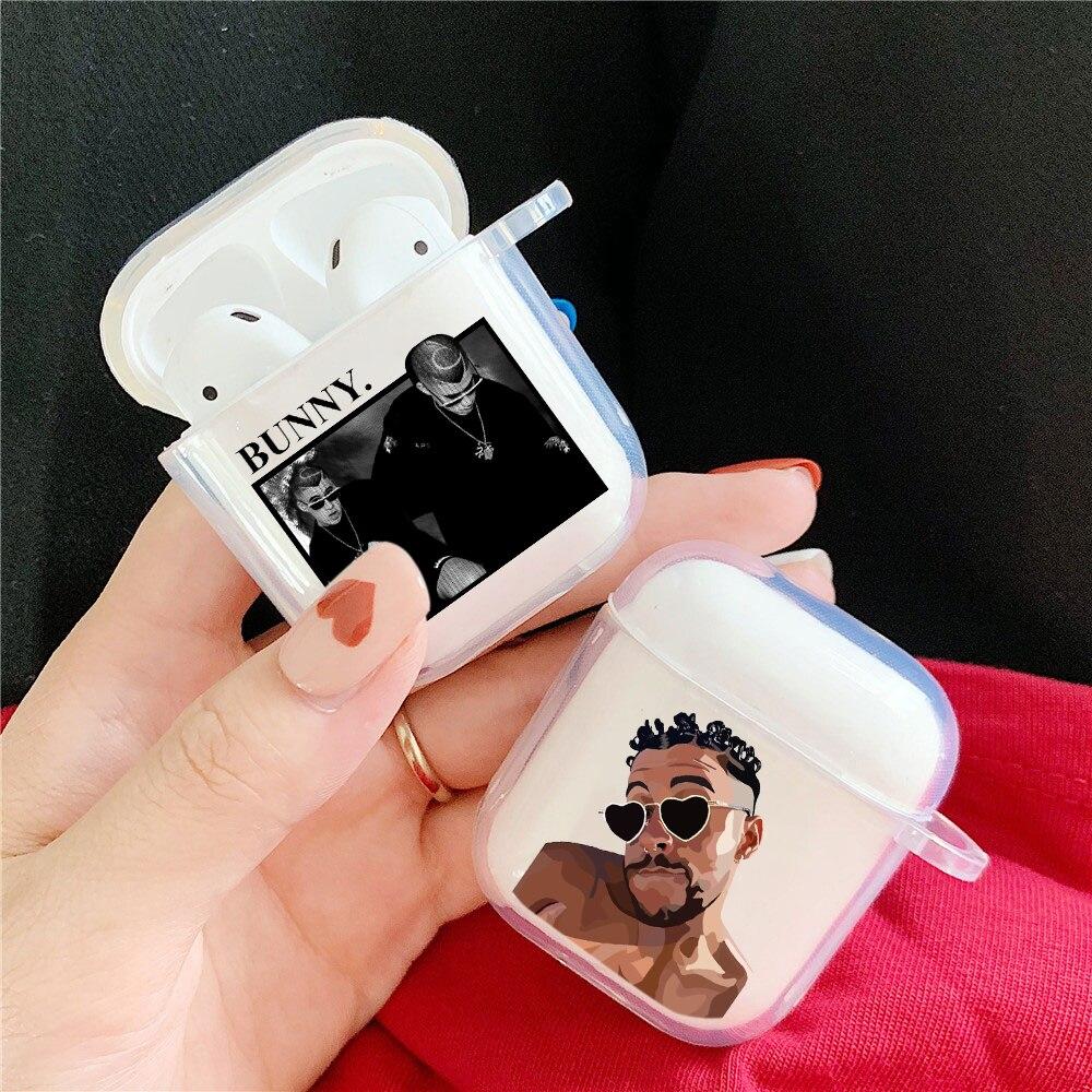 Yo Perreo-funda de silicona para Apple airpods 1 y 2, Bad Bunny, Maluma, accesorios para auriculares inalámbricos