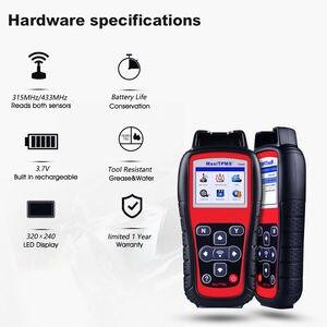 Image 3 - Autel TS508K narzędzie diagnostyczne TPMS, czujnik TPMS sprawdź stan systemu TPMS, Program mx czujniki przeprowadzić TPMS Relearn TS508 VS TS401
