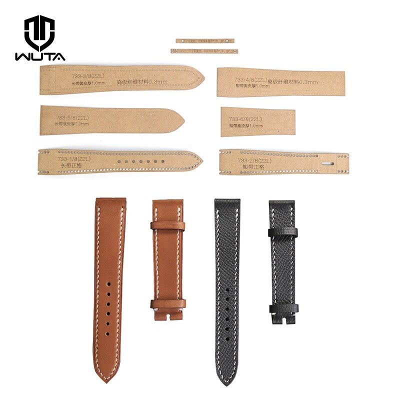 WUTA Leather Craft Template 1Set Watch Strap Band Stencil Template  0.56mm Thick Kraft Paper DIY Women Men Wrist Watch Band Mold