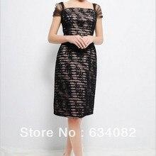 free shipping 2016 womens elegant dress plus size vestidos formales cap sleeve s