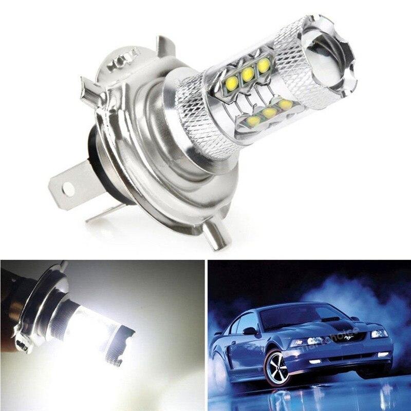 Новинка 1 шт. H4 80W 6000K 1000LM светодиодный туман 360 градусов для вождения автомобиля головной светильник лампы Белый супер яркий низкое потребле...