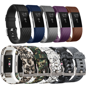 Image 2 - Correia de pulso para fitbit carga 2 banda relógio inteligente accessorie para fitbit carga 2 pulseira inteligente bandas substituição