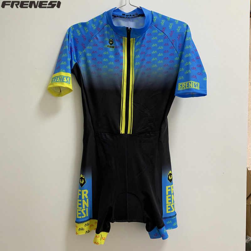 2020 kolumbien heißer verkauf Frenesi downhill-bike kleidung skinsuit climbsuit outdoor trisuit radfahren kleidung ciclismo triathlon