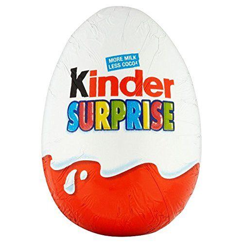 Kinder Surprise Single Egg 20g (Pack Of 48 X Sgl)